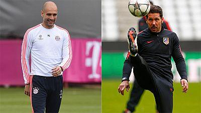 Simeone y Guardiola se juegan el pase a la final de Champions