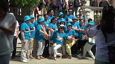 2.500 trabajadores chinos de Tiens aterrizan en Madrid en unas vacaciones pagadas por la empresa