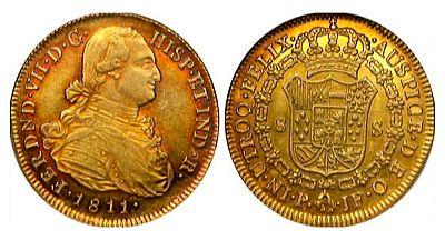 La Guardia Civil investiga el hallazgo en un pueblo de Valladolid de varias monedas de oro del siglo XIX