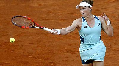 Tenis - Mutua Madrid Open 2016:Carla Su�rez Navarro vs. Samantha Stosur - ver ahora