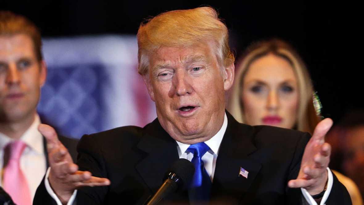 Trump se queda sin rivales y ser� designado candidato republicano a la casa blanca