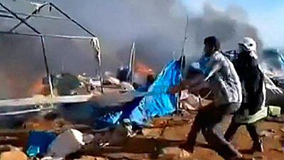 Un ataque aéreo deja al menos 28 muertos en un campo de refugiados en el norte de Siria