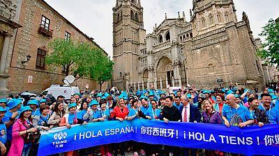 El grupo chino Tiens paga unas vacaciones en España a 2.500 de sus empleados