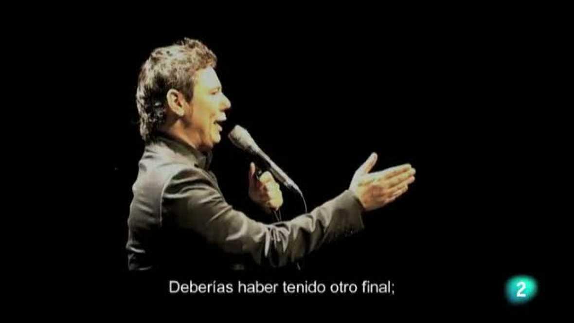 Miguel Poveda musicaliza uno de los poemas más duros, 'Final', de Joan Brossa