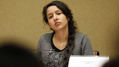 La hija de Berta Cáceres denuncia el inmovilismo del Estado ante la muerte de su madre