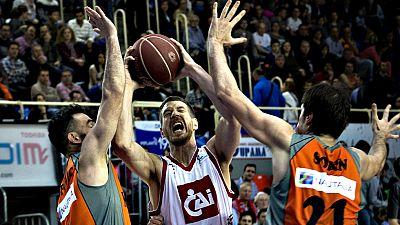 El conjunto dirigido por Jota Cuspinera ganó ante el CAI Zaragoza (105-85) en el Fernando Martín después de cuatro derrotas consecutivas como local y se acerca cada vez más al Playoff.