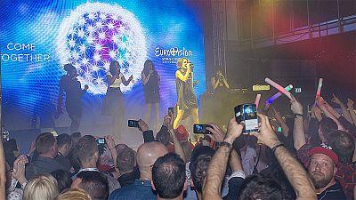 Éxito total de Barei en el Euroclub