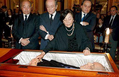 La muerte de Leopoldo Calvo Sotelo en Informe Semanal