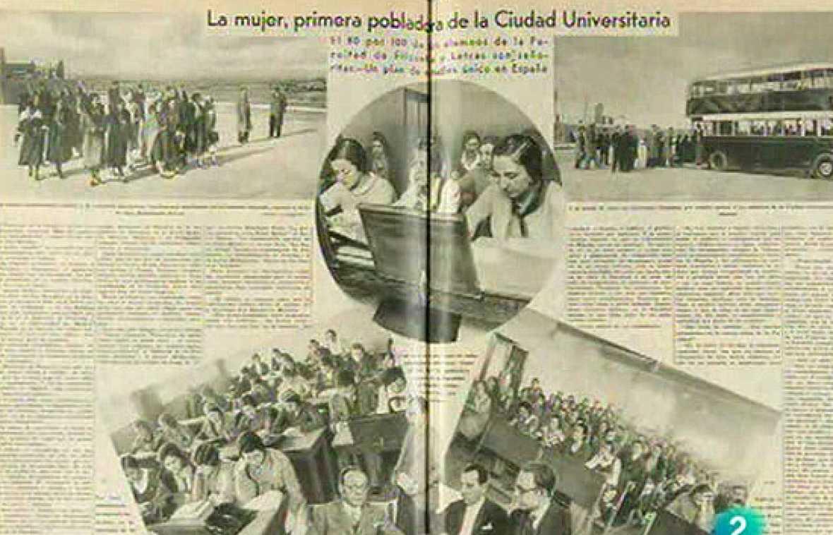 Luces de la Enseñanza 1933. Facultad de Filosofía y Letras de Madrid (I) (II)