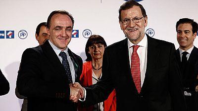 PP y UPN renuevan su coalición electoral en Navarra para el 26J