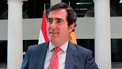 El presidente de CEPYME, Antonio Garamendi, cree que ha llegado el momento de subir sueldos con moderación