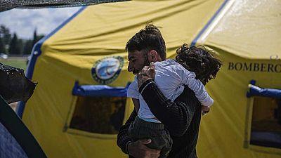 Osman, el niño afgano refugiado con parálisis cerebral, a punto de llegar a España