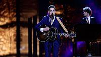 Eurovisión 2016 - Semifinal 1 - Países Bajos: Douwe Bob canta 'Slow Down'