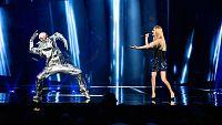 Eurovisión 2016 - Semifinal 1 - Moldavia: Lidia Isac canta 'Falling stars'