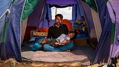 El niño refugiado afgano con parálisis cerebral llega a España para su tratamiento