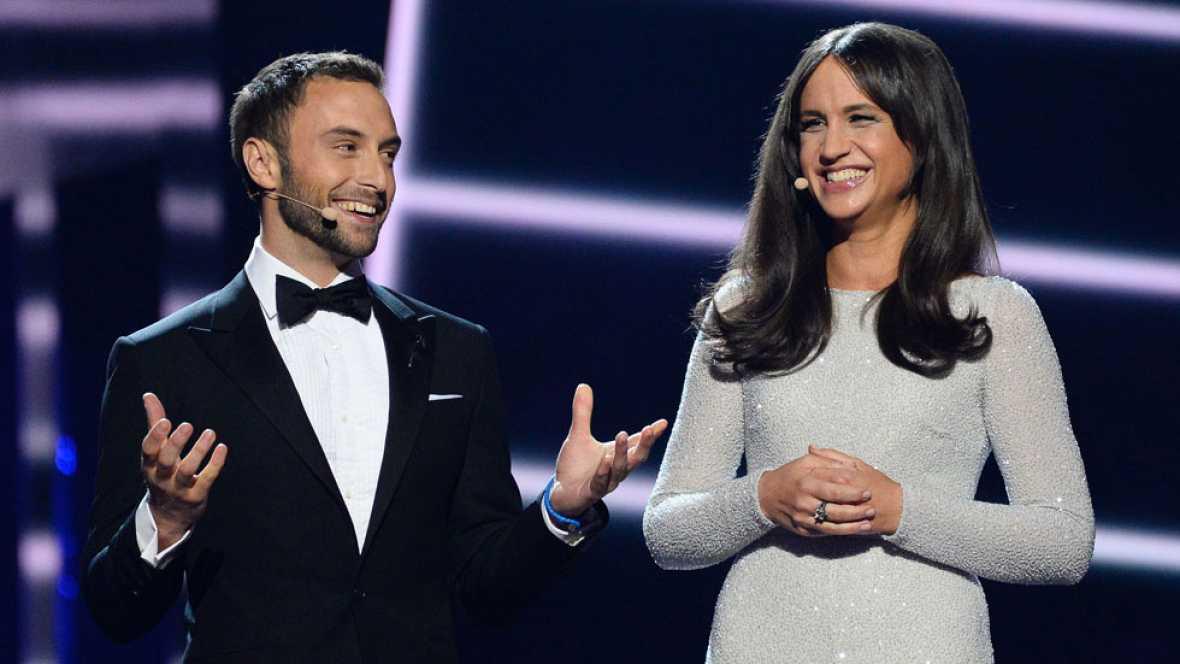 La retransmisión alternativa de RTVE.es de la primera semifinal de Eurovisión (primera parte)