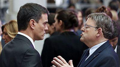 Ximo Puig sigue dispuesto a pactar con Podemos y Ferraz le recuerda que decidirá el comité federal
