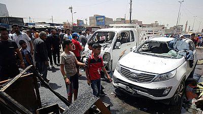 64 personas muertas y más de 80 heridas tras la explosión de un coche bomba en Irak
