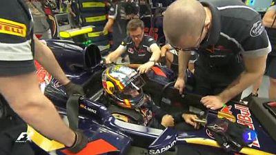 Sainz lamenta las dificultades técnicas pero espera un campeonato de España competido