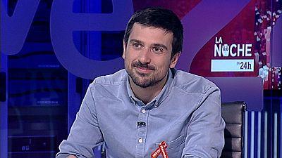 """Ram�n Espinar, portavoz de Podemos en el Senado, ve posible la candidatura conjunta con el PSOE en el Senado: """"Gobernamos en muchos sitios con buen resultado"""""""
