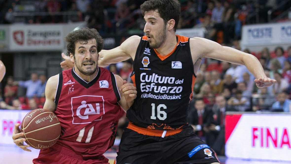 CAI Zaragoza 75-78 Valencia Basket