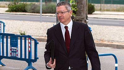 Gallardón asegura que no sabía que Urdangarin cobraba por colaborar con Madrid 2016