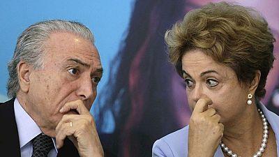 Rousseff es apartada del poder en Brasil y le sustituye el vicepresidente, Michel Temer