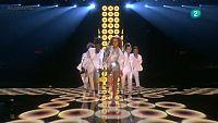 Eurovision 2016 - Semifinal 2 - B�lgica: Laura Tesoro canta 'What�s the pressure'