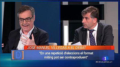 El Debat de La 1 - Entrevista a Jos� Manuel Villegas de Ciudadanos