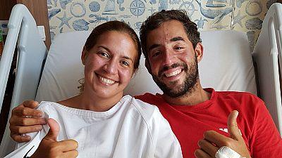 Los dos españoles perdidos en las aguas de Malasia llegan a tierra