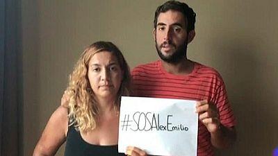 La pareja rescatada en Malasia pide buscar a dos españoles desaparecidos en el Mediterráneo