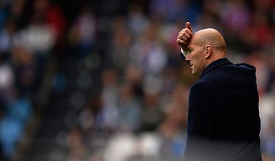 """Zidane: """"Estamos un poco decepcionados, pero hicimos todo lo que teníamos que hacer"""""""