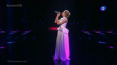 Eurovisi�n 2016 - Rep�blica Checa: Gabriela Gunc�kov� canta 'I Stand'