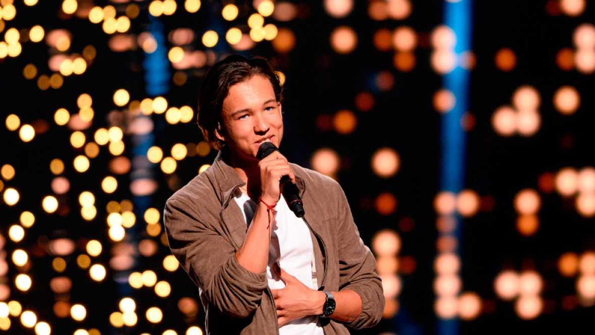 Eurovisión 2016 - Suecia: Frans canta 'If I were sorry'