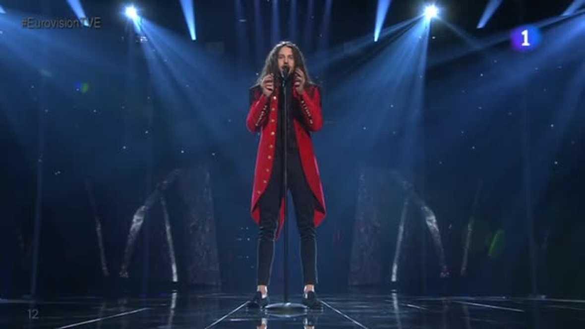 Eurovisión 2016 - Polonia: Michal Szpak canta `Color Of Your Life¿