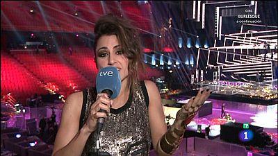 """Eurovisión 2016 - Barei tras conocer el resultado: """"Gano más de lo que pierdo"""""""