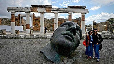 Las ruinas de Pompeya acogen el último deseo del escultor Igor Mitoraj