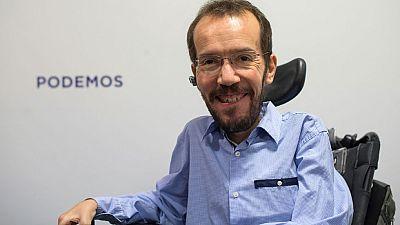 """Echenique: """"El objetivo de Podemos es conseguir el millón de votos que nos separa del PP"""""""