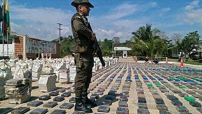 Intervenido el mayor alijo de cocaína en Colombia hasta la fecha