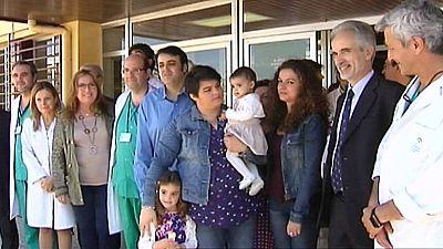 Primer trasplante de hígado en España de un donante vivo a un bebé por laparoscopia
