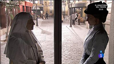 Acacias 38 - Teresa le cuenta a Sor Brigida lo que hizo el se�or Aparicio