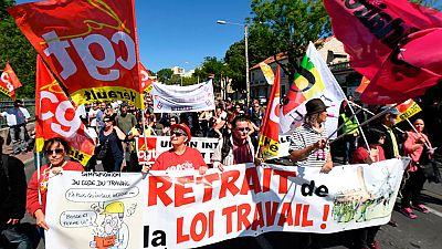 Movilizaciones en Francia contra la reforma laboral de Hollande