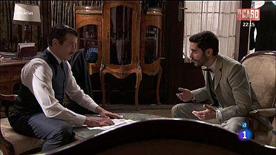 Acacias 38 - V�ctor le pide a Leandro que arregle las cosas con su madre