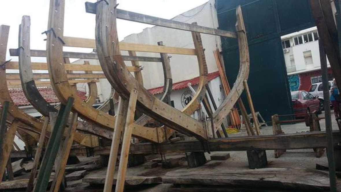 Construyendo un barco histórico