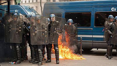 Continúan las protestas en Francia contra la reforma laboral