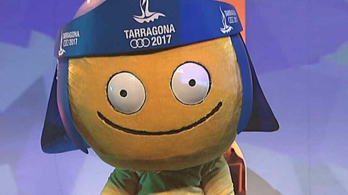 XVIII Juegos Mediterráneos Tarragona 2017. Presentación de la mascota - ver ahora