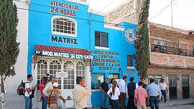 En México, la policía ha detenido a los responsables de un albergue para drogadictos y ha rescatado a los internos