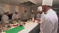 MasterChef 4 - Clase de cocina con huevos