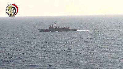 Localizan restos humanos del avión de EgyptAir estrellado en el Mediterráneo