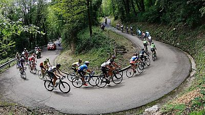 Ciclismo - Giro de Italia, 13ª Palmanova - Cividale del Friuli (1ª parte) - ver ahora
